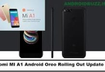 MI A1 Android Oreo Update