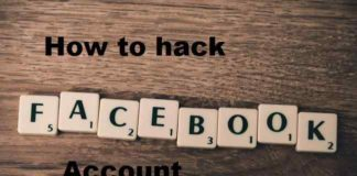How to hack Facebook account
