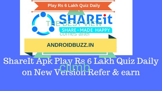 Shareit Playing Quiz