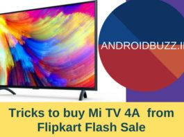 Tricks to buy Mi TV 4A
