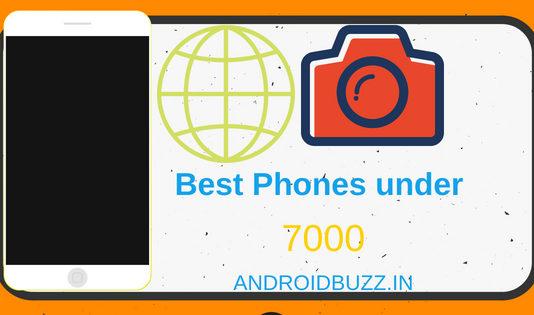 Best smartphones under 7000