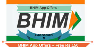 BHIM App Offers