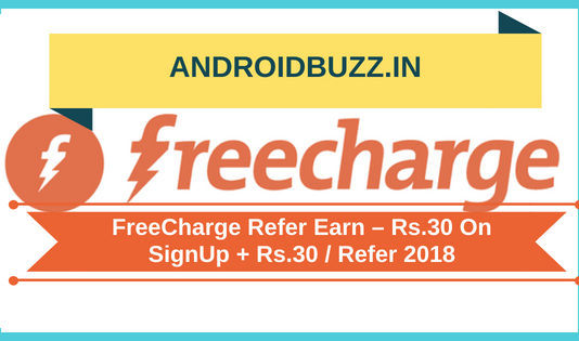 FreeCharge Refer Earn