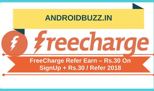 FreeCharge Refer Earn