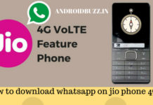 whatsapp on jio phone