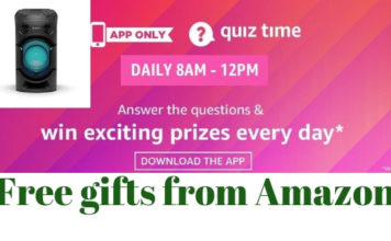 amazon quiz answers 19 January