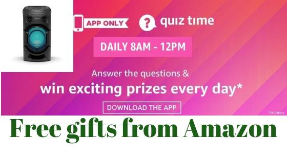 amazon quiz answers 19 January