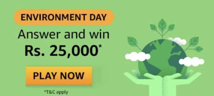 Amazon Environment Day Quiz Answer