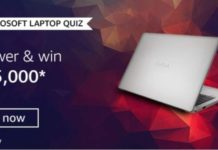 Amazon Microsoft Laptop Quiz