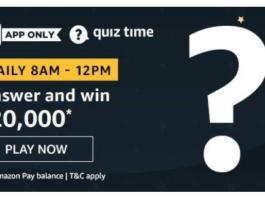Amazon Quiz Answers 15 June