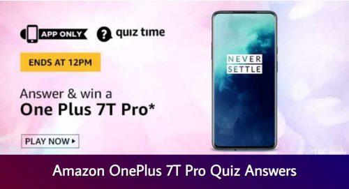 Amazon Quiz Today Answers Quiz