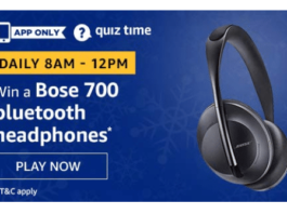 Amazon Quiz Today Answer 3 July 2020