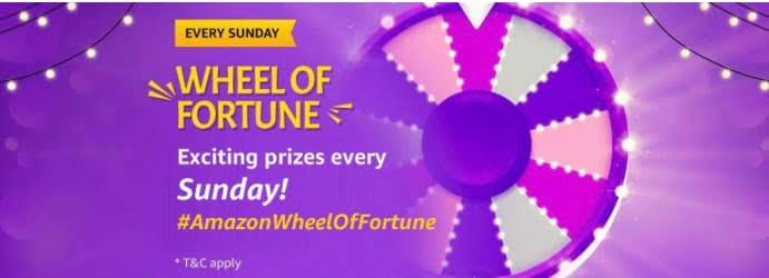 AmazonWheel of Fortune Quiz