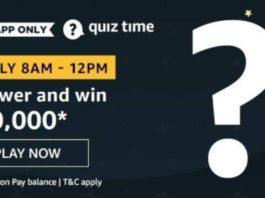 Amazon Quiz Answers Today September 24 2020