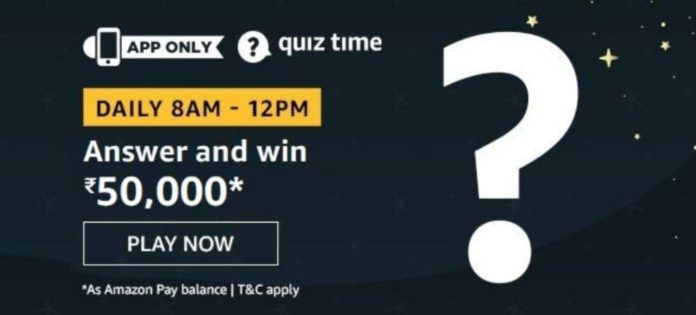 Amazon Quiz Answers Today September 24 2020