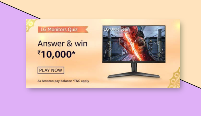 Amazon Quiz Today Answers Amazon-LG-Monitor-Quiz-780x451