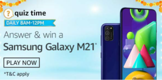 Amazon Samsung Galaxy S20 FE Quiz