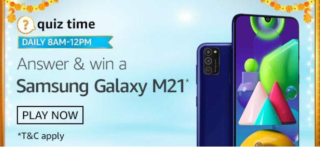 Amazon Samsung Galaxy S20 FE Quiz