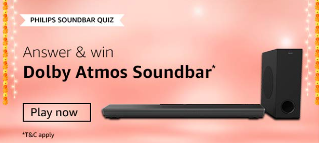 Amazon Philip Soundbar Quiz