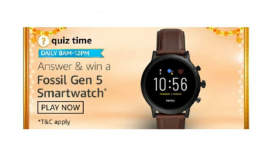 Amazon Quiz Today Answers 2 October 2020