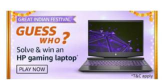 Amazon Guess Who QUiz
