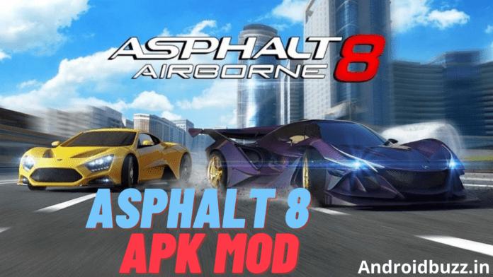 Asphalt 8 apk mod